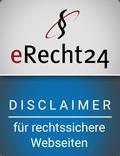 MAXMARK als Agenturpartner von eRecht24 unterstützt bei der Rechtssicherheit von Websites nach der DSGVO.