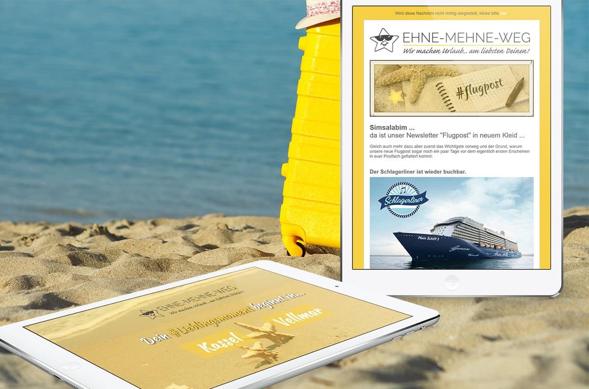 Unsere Onlineagentur aus Kassel kennt sich im Bereich Newsletter-Marketing aus und unterstützt seit mehreren Jahren dauerhaft Unternehmen.
