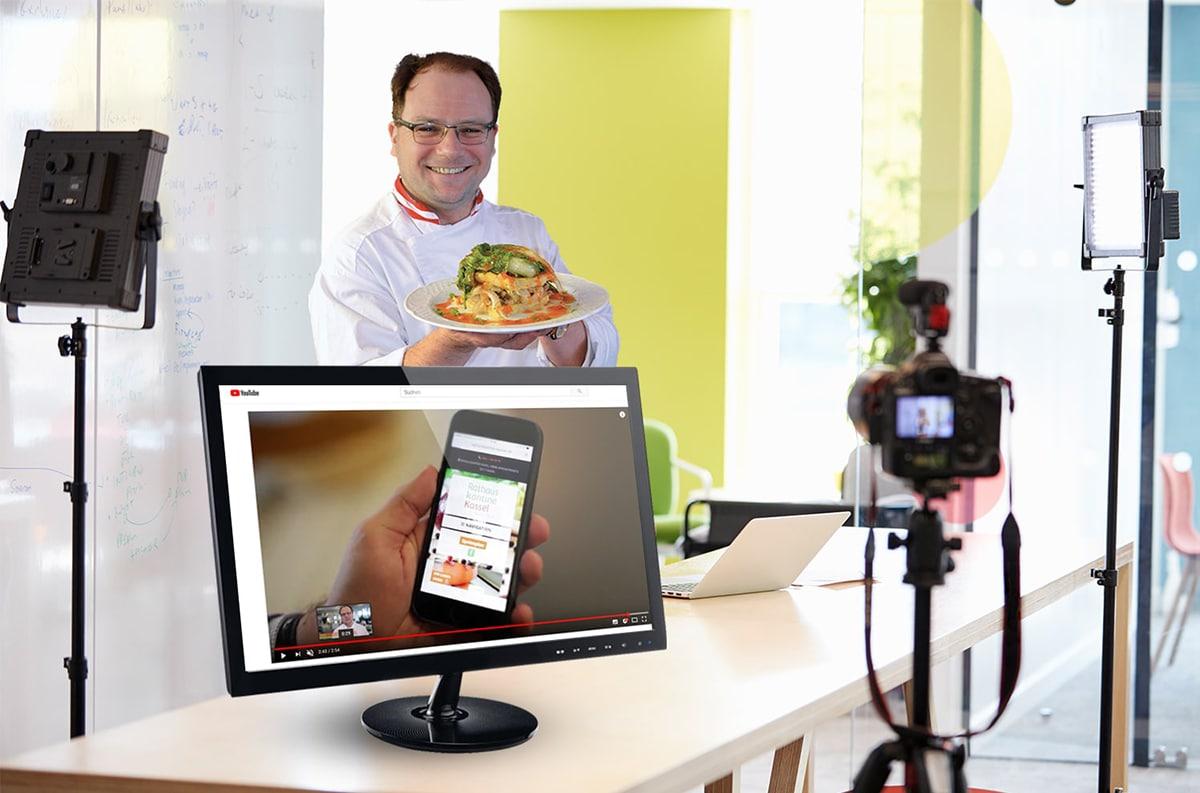 In Kassel entwickelt MAXMARK für Unternehmen Animationsvideos und Realfilme als Unternehmenspräsentation.