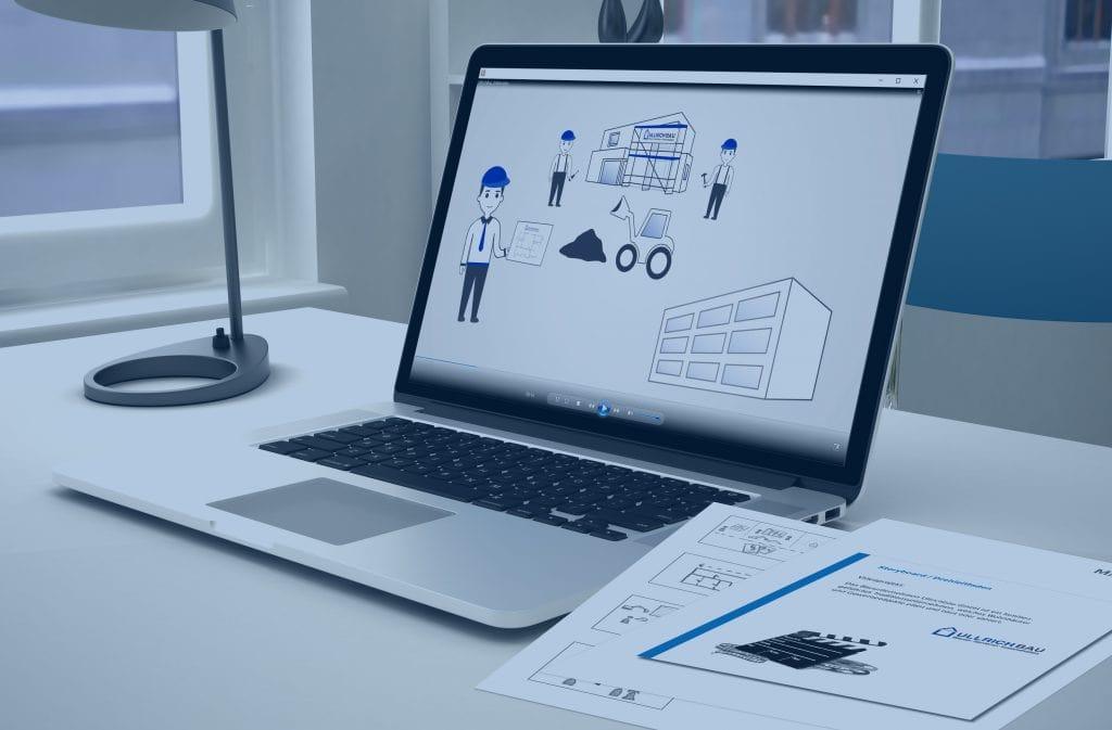 Wir entwickeln Storyboards und produzieren Erklärvideos für die Baubranche in Kassel und Umgebung.